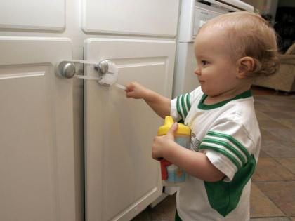 Childproofing the House