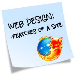 web design features tips