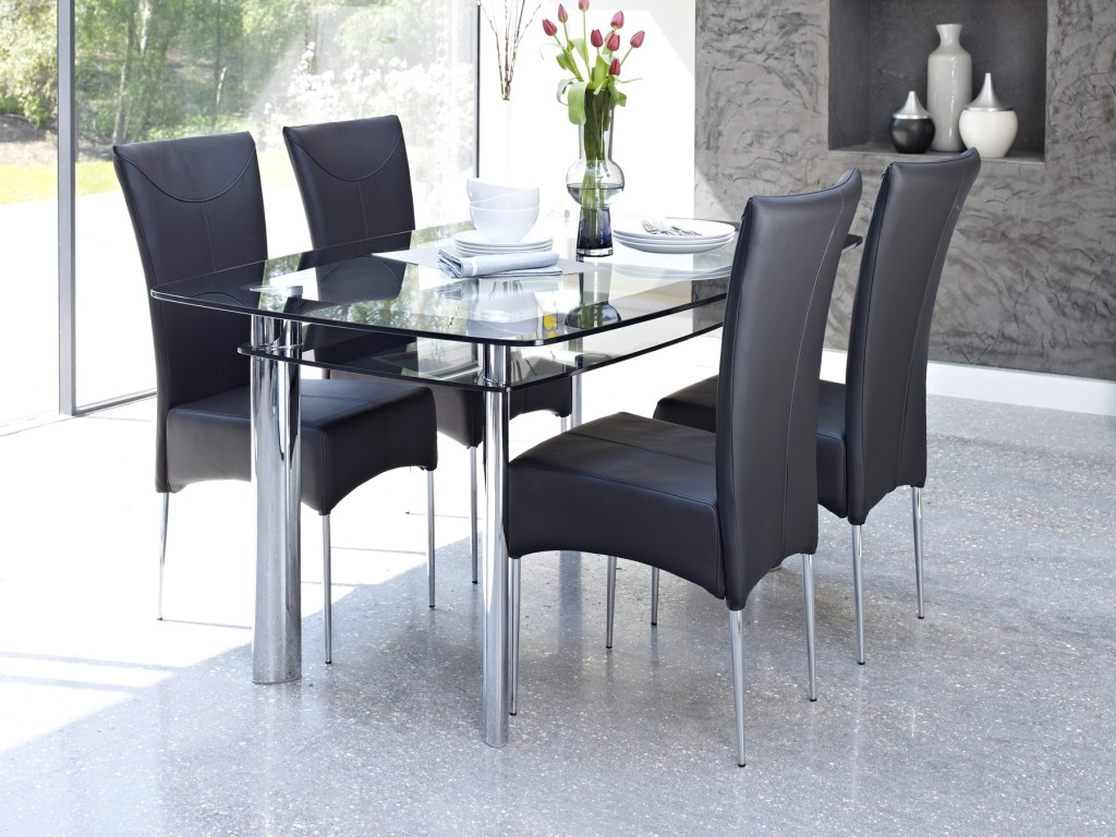 Glass Dining Table Set India