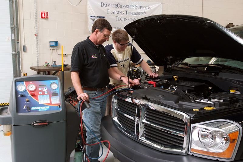 Auto Mechanic which subjects are most emphasized in college