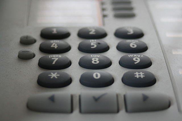 Callers interact with the system using either their voice or the telephone keypad